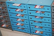 Распространение листовок по почтовым ящикам,  Луганск