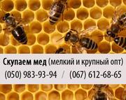 Купим пчелиный мед (куплю мед) крупным и мелким оптом в Луганске