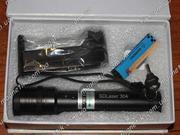 Сверхмощный прожигающий зеленый лазер 6000 mW (6 Вт) с фокусировкой.