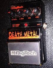 Продам Digitech Death Metal