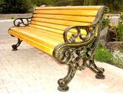 Лавочки,  скамейки парковые.