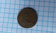Продам бракованную монету 25 копеек 1994 года