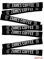 Сахар в стиках ZAMES COFFEE 1 кг - 200 стиков. Оптом. Крупным оптом