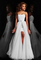 Вечернее платье со съемным шлейфом(44-48)