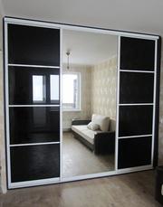 Изготовим шкаф-купе с применением зеркальных фасадов в Луганске